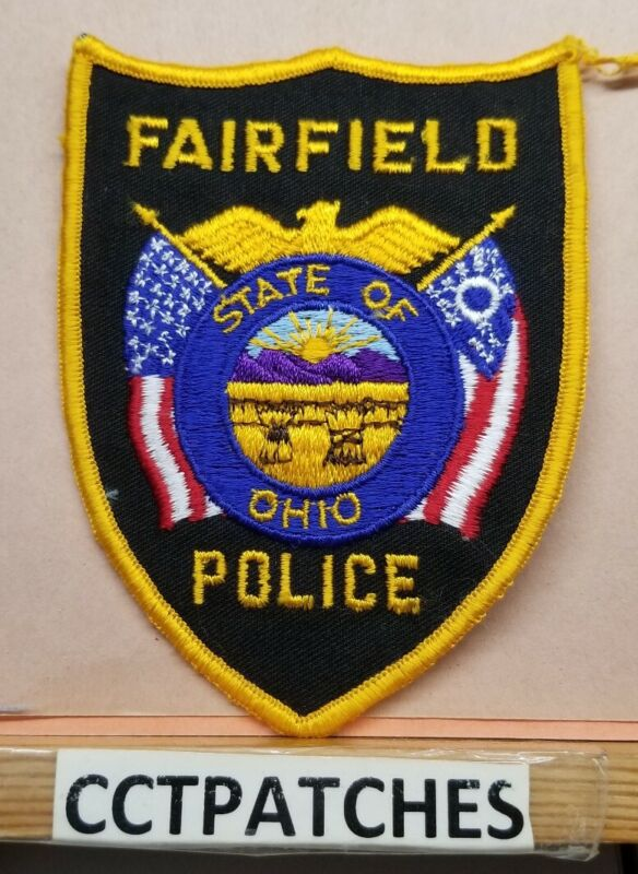 FAIRFIELD, OHIO POLICE SHOULDER PATCH OH
