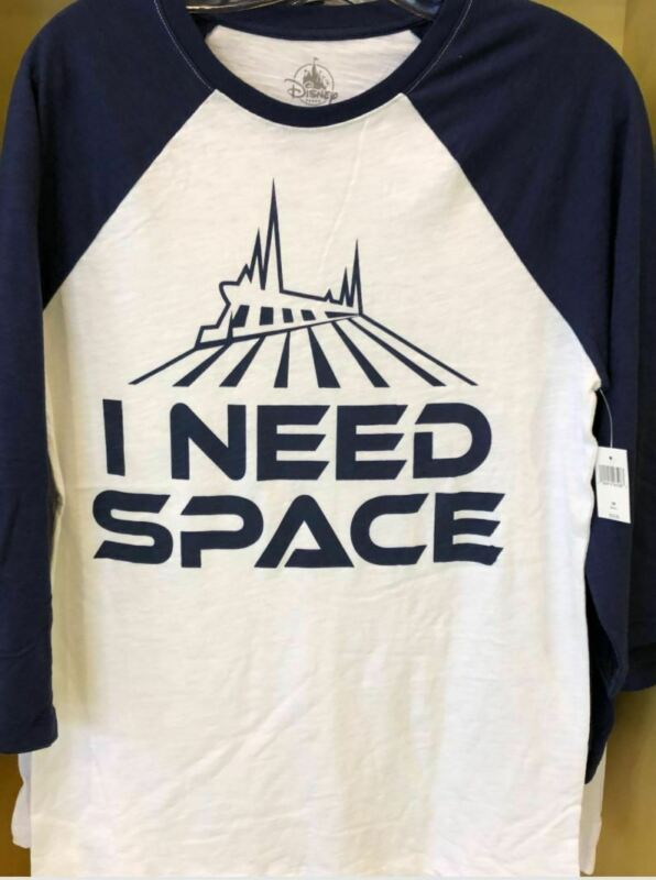 """Disney Parks """"I Need Space"""" Space Mountain Shirt for Adults"""