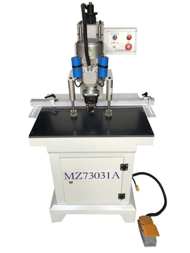 Pneumatic Hinge Boring Machine Single Head Woodworking Hole Drilling Equipment