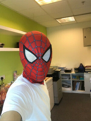 Amazing Spider-Man 2 Mask Hood Spiderman Party Halloween Cosplay Costume - Halloween Spider Mask