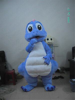 Dinosaur Mascot Costume Halloween X'mas Birthday Fancy Interesting Good Worth A+](Interesting Halloween Costumes)