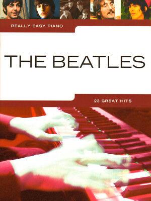 Really Easy Piano: The Beatles Noten für Klavier leicht