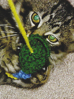Crochet Pattern ~ CAT TOY, Mouse ~ Instructions