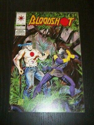 Bloodshot #7 The Unkindest Schnitt Aller ! 1ST Ninjak in Kostüm Valiant 1993 (Hot Star Wars Kostüme)