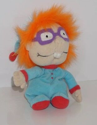 """Rugrats 1998 Chuckie Plush In Pajamas. 9"""". Toys From Movies. Vintage Toys. Chuck"""