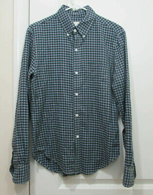 band of outsiders multi-color check shirt size Small EUC!