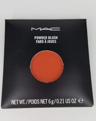Used, AUTHENTIC MAC COSMETICS Powder Blush Pro Palette REFILL pan DEVIL New in package for sale  Brooklyn