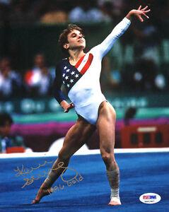 Kerri Strug Signed 8x10 Photo 96 Gold Gymnast Olympics Itp