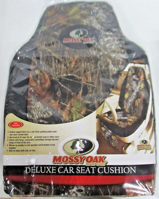 - MOSSY OAK BRAND CAMO DELUXE CAR SEAT CUSHION   SET OF 2  846571066478
