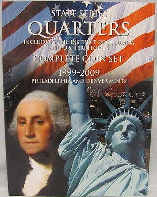WHITMAN FOLDER - STATEHOOD QUARTERS / U.S. TERRITORIES 1999-2009 P&D (#2841)