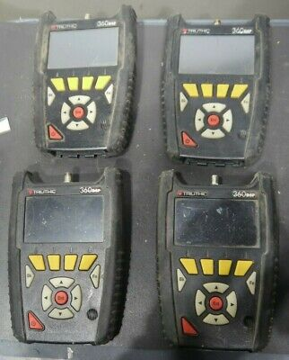 Trilithic 360dsp Home Cert Catv Meter Lot Of 4 For Parts