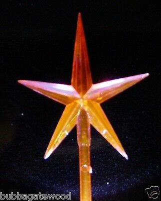 Orange Pink Iridescent Aurora ceramic Christmas Tree Star Top Twist lights Angel](Angel Christmas Tree)