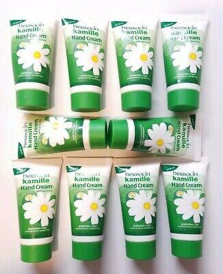10 Tubes of Kamille Hand Cream by Herbacin With Glycerine (1oz Cream) BRAND NEW