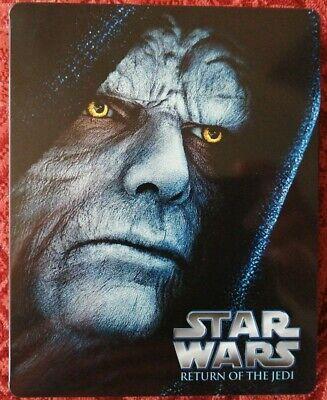Star Wars Return Of The Jedi Steelbook Blu-Ray (See Notes) Free P&P