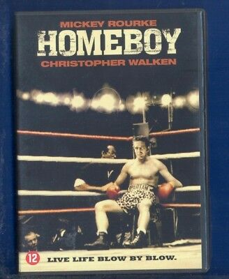 HOMEBOY : ... : (  MICKEY ROURKE / CHRISTOPHER WALKEN ) .  ( DVD ) NEW