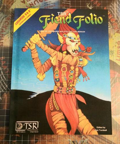 Fiend Folio - Softcover - AD&D D&D