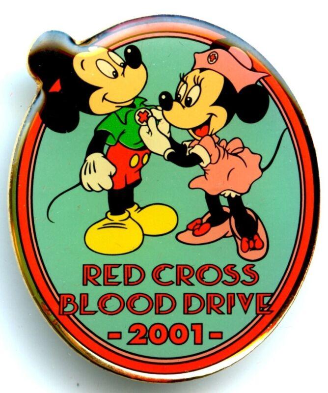Tokyo Disneyland - Cast Member - 2001 Red Cross Blood Drive (Mickey & Minnie)