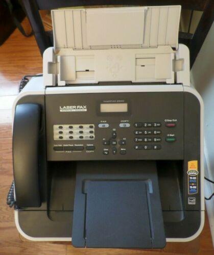 Brother IntelliFax 2840 High-Speed Laser Fax Machine, Printer, Copier W/Toner