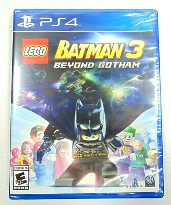 PS4 - LEGO BATMAN 3 - BEYOND GOTHAM - BRAND NEW - FACTORY SEALED