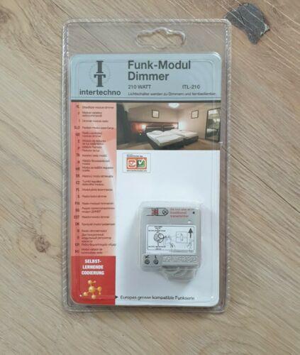 intertechno ITL-210 Funk-Modul Dimmer 210 Watt - Lichtschalt