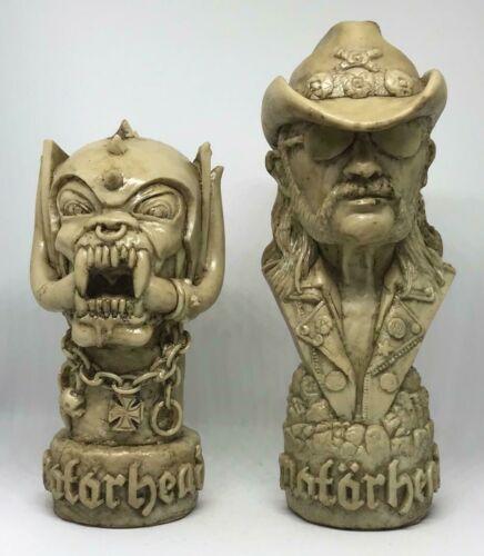 Motorhead Lemmy Beast lot bust Sculpture Figurine Figure Resin Stone style