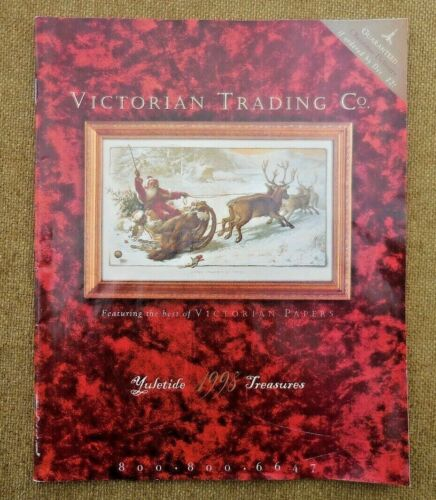 VINTAGE Victorian Trading Co Catalog CHRISTMAS1998 Antique Replica Gift Clothing