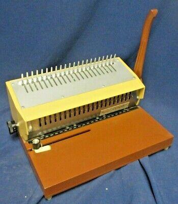 Gebco General Binding Corporation Combo Binding Machine For Plastic Bindings