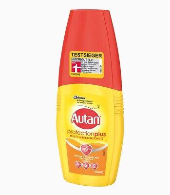Autan Protection Plus Mückenspray Multi Insektenschutz 3 x 100ml