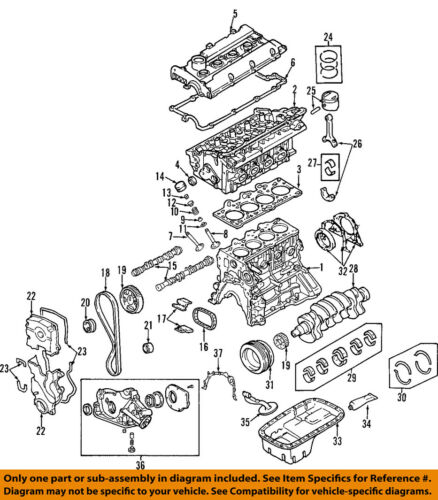 HYUNDAI OEM 01-11 Accent-Engine Timing Belt 2431226050 | eBayeBay