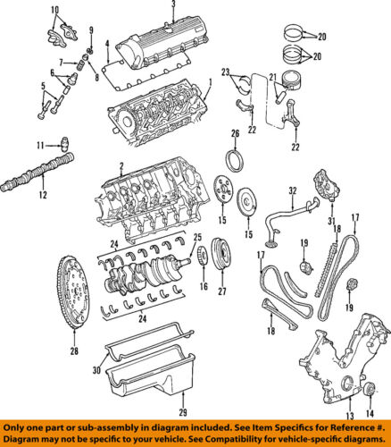 [DIAGRAM_38DE]  FORD OEM 99-14 E-350 Super Duty-Engine Oil Pan F8UZ6675AA   eBay   Ford V10 Engine Diagram      eBay
