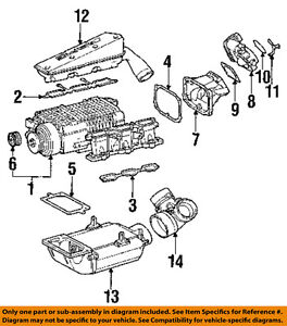 mercedes mercedes 98 05 e320 engine intake manifold gasket 1121412080 ebay