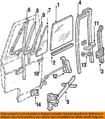 GM OEM-Door Lock Cylinder 12398552