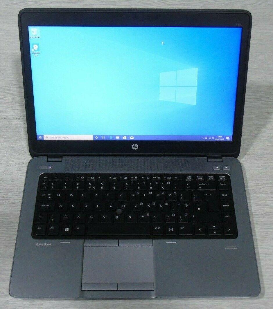 """Laptop Windows - HP Elitebook 840 G2 14"""" Laptop - Core i5 8GB / 16GB Ram 240GB SSD Windows 10 Pro"""