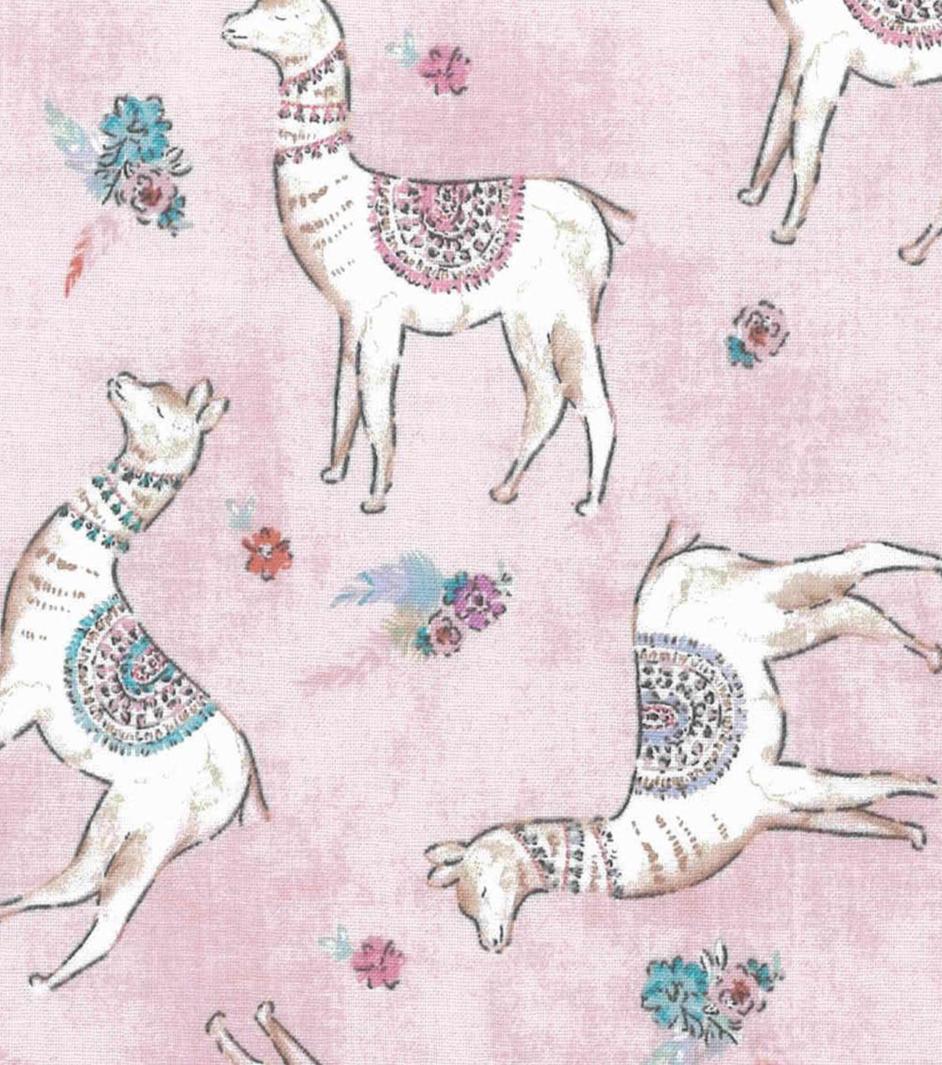 LLAMAS Fancy BEAUTIFUL Cotton Quilt Fabric BTY