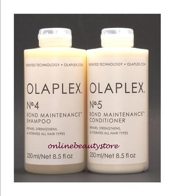 Olaplex No 4 and 5 shampoo and conditioner 8.5 oz, Authentic