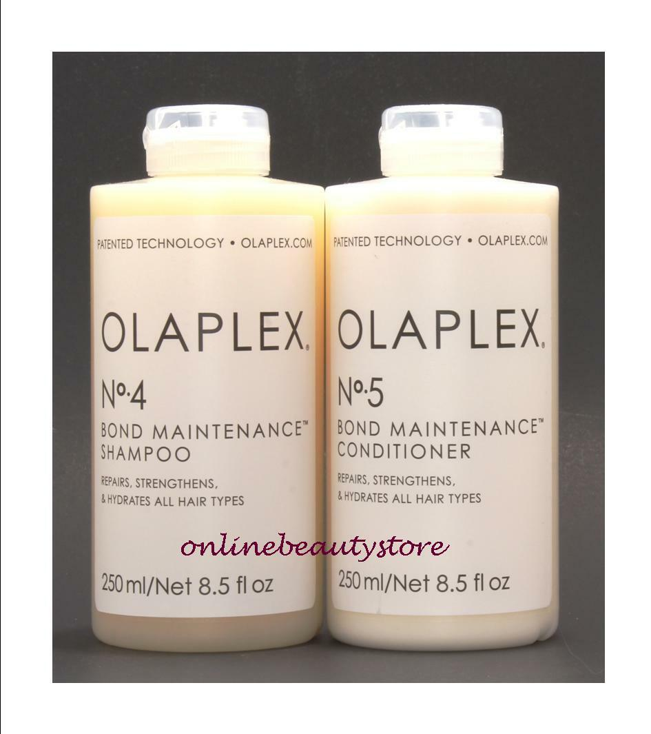 Olaplex No 4 and 5 shampoo and conditioner 8.5 oz, Authentic