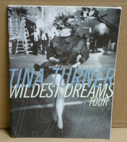 Tina Turner Wildest Dreams 1997 tour book souvenir concert program
