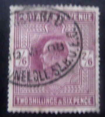 GB-1902-SG262-KEVII 2/6 Purple-Used