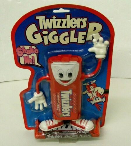 Twizzlers Giggler Candy Dispenser Vintage 1999 New In Package Hershey