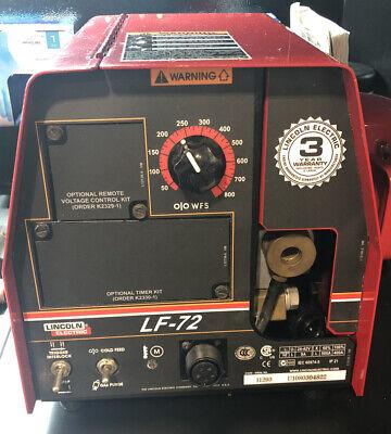 Lincoln Lf-72 Mig Welder Wire Feeder K2327-4