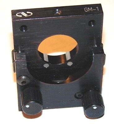 Newport Nrc Model Gm-1 Optical Lens Mirror Mount For 1 Inch Optics