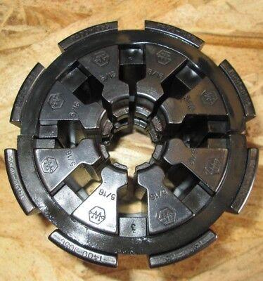 Weatherhead Hydraulic Hose Crimper Die Set T400-105c 516 Collet Set