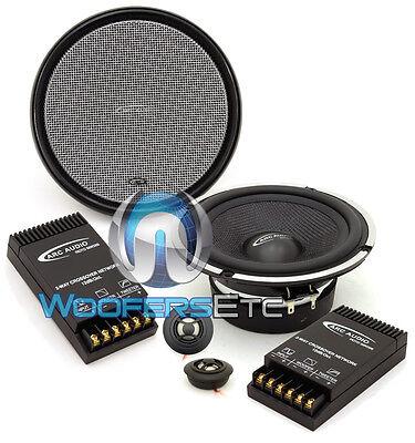Arc Audio Moto 6 2 6 5  90W Rms Motorcycle Car Component Tweeters Speakers New