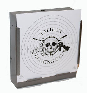 100-Air-Rifle-Shooting-TALIBAN-HUNTING-CLUB-Targets-14cm-card-Deluxe-275gsm