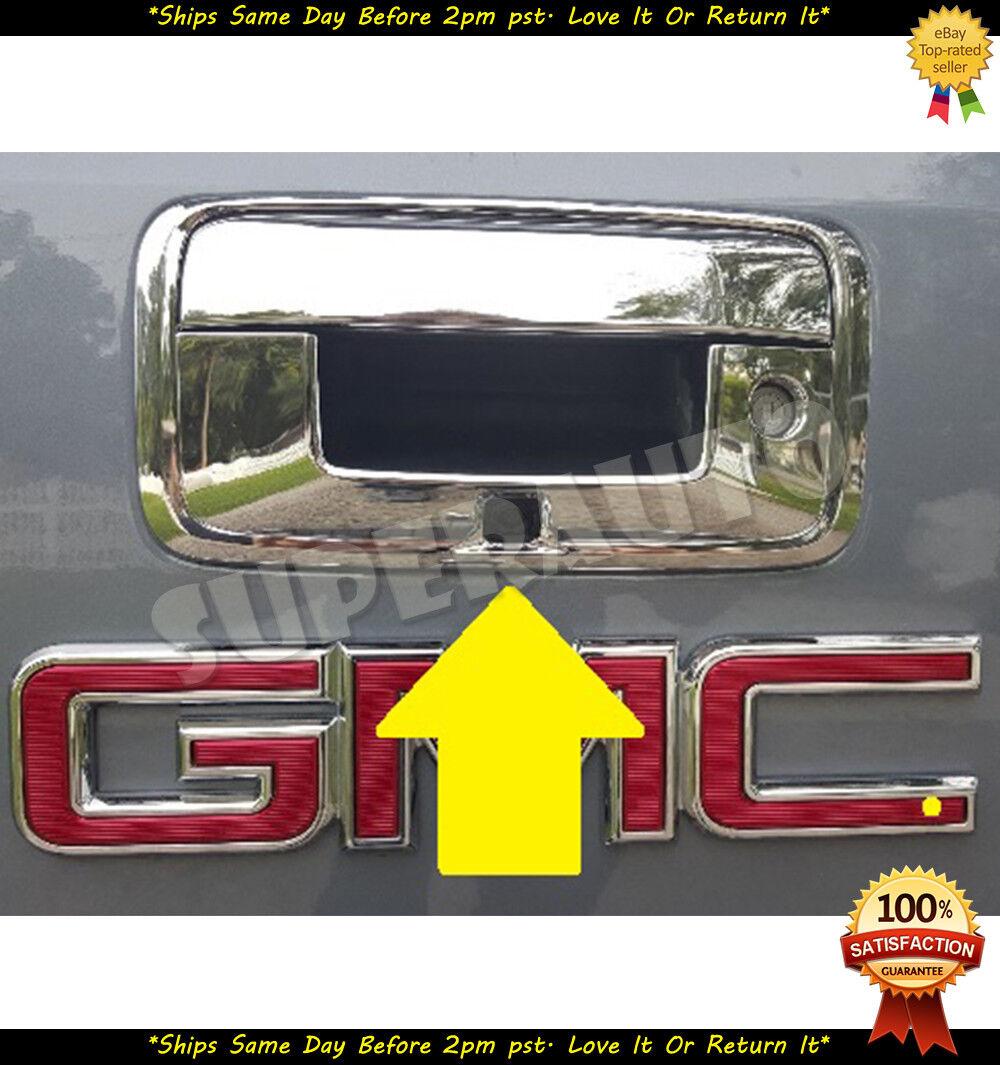 CHROME TAILGATE LIFT HATCH OVERLAY FOR 2007-2012 GMC ACADIA