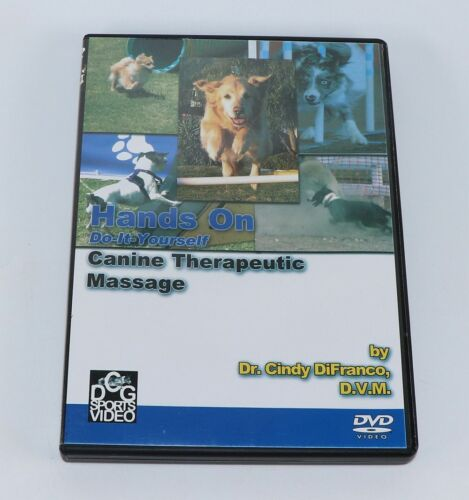 """""""Hands On"""" DVD- Canine Therapeutic Massage by Dr. Cindy DiFranco, DVM"""
