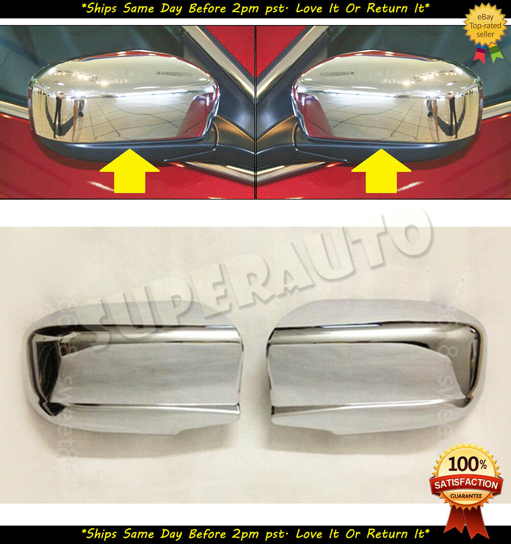 Honda Accord Chrome Mirror Cover 2003-2007 With Triple Chrome Plating 3M Tape