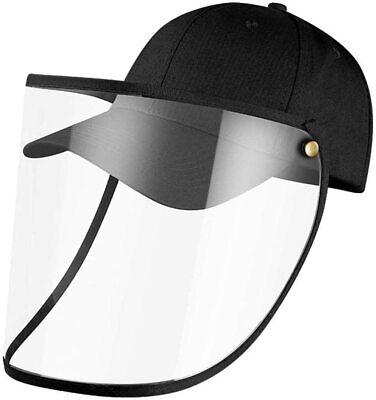 Transparent Anti Saliva Hat Splash Dust Proof Full Face Shield Protection Cover