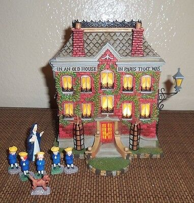 Storybook Village Madeline's Old House In Paris Night Light