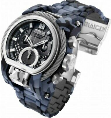 Invicta Reserve Bolt Zeus Magnum 2 Swiss Movements Hydroplated Camouflage Watch